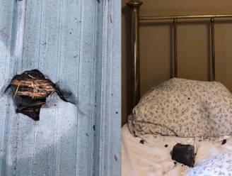 Canadese schrikt wakker van ingelagen meteoriet op kopkussen