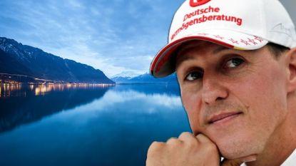 """Wat we vandaag weten over het leven van Michael Schumacher: """"Niet langer bedlegerig"""", tranen wanneer hij aan Meer van Genève zit en Formule 1 volgen op tv"""
