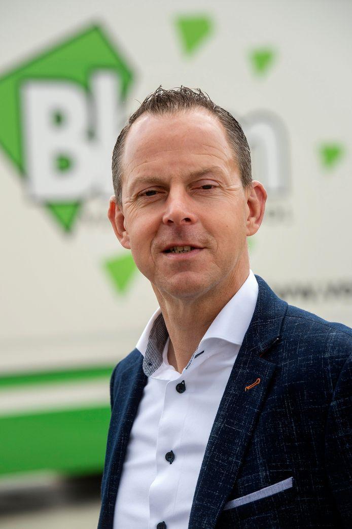 Reggy Heijens, directeur van Verkeersschool Blom en voorzitter van de Industriële Kring Etten-Leur.
