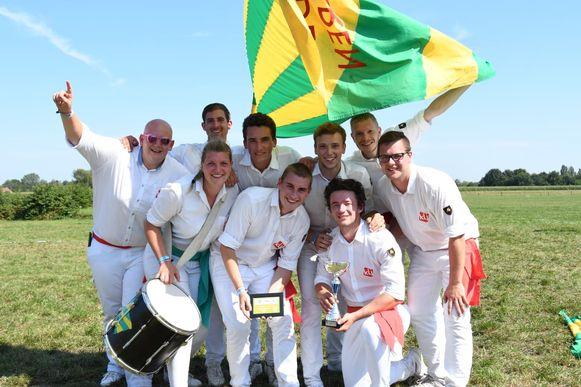 KLJ Wetteren is Belgisch kampioen vendelzwaaien.
