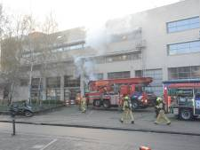 Brandweer rukt opnieuw uit voor 'grote brand' in studentenflat aan Stamkartplein