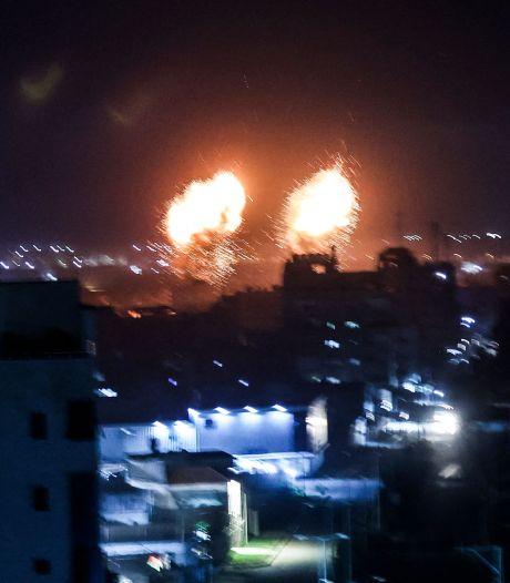 Israël voert luchtaanval uit op Gaza na brandballonnen