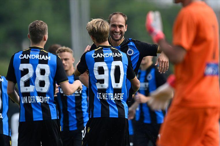 Vooral Club Brugge is een voorstander van de Beneliga. Beeld Photo News