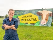 Mobiele boerin Ellen (34) begint juist nu melkbedrijf in Zwolle: 'Mensen beginnen te lachen als ze mij zien'