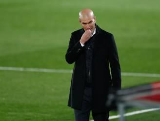 Real-coach Zidane test positief op corona