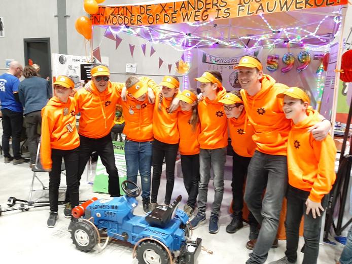 Award en nominatie voor X-Landers 10.0 van basisschool De Zonneberg Kruisland