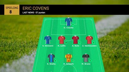 Eric Covens is weekwinnaar Gouden Elf met liefst 57 punten