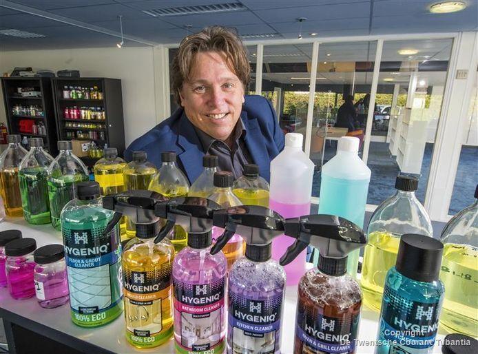 Marcel in het Veld, oprichter van Hygieniq, kan dankzij de participatie van twee investeerders de groei van zijn bedrijf versnellen.
