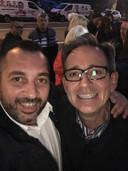 Les socialistes Philippe Tison (à droite) et Guglielmo Pastorelli (à gauche) s'étripent après avoir fait cause commune à Anderlues.