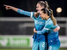 FC Twente Vrouwen boekt vijfde zege op rij, PSV slacht Achilles'29