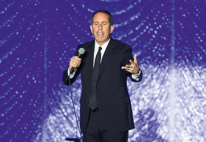 Jerry Seinfeld Beeld Getty