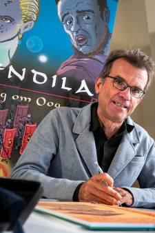 Oosterbeekse striptekenaar maakt met Wendila een spannende reis terug in de tijd