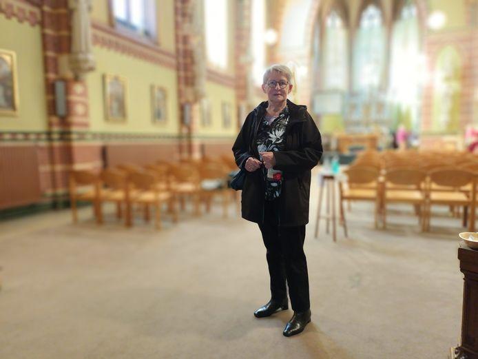Tussen 1945 en 1958 was Annie Baijens leerlinge en bewoonster van het IvD. Iedere ochtend om 7 uur zat zij in de kapel voor de Heilige Mis.