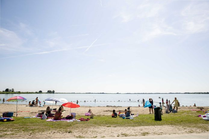 De Surfplas in Reeuwijk.
