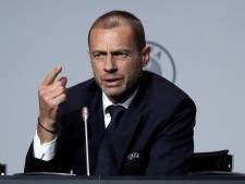 UEFA-voorzitter Ceferin neemt stelling: 'Beëindigen competities voorbarig'