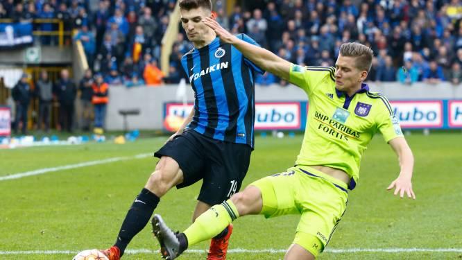 Anderlecht ontvangt Club Brugge voor een vol huis