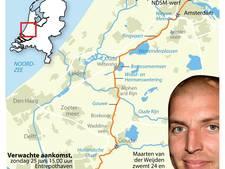 Maarten van der Weijden blijft ondanks tegenwind op schema