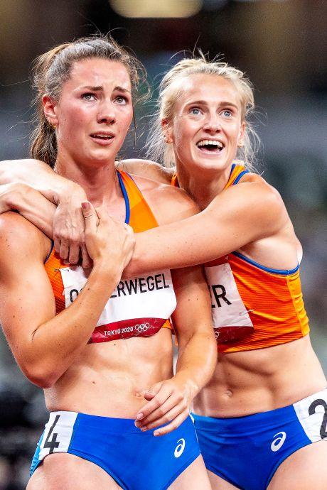 Fantastische beelden na atletieksucces Vetter en Oosterwegel