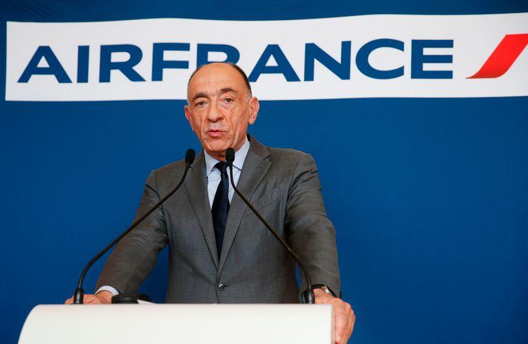 Jean-Marc Janaillac, CEO van Air France-KLM