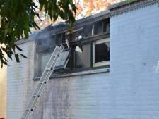 Buitenbrand slaat over naar gymzaal in Waregemstraat Breda