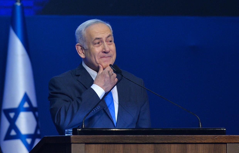 Benjamin Netanyahu Beeld NurPhoto via Getty Images