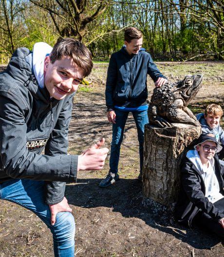 Beelden in het Irenebos vallen in de smaak: 'Dit is een park waarin iedereen zich herkent'