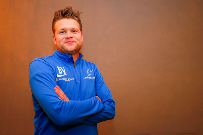 Boskant-speler Brett Veldkamp
