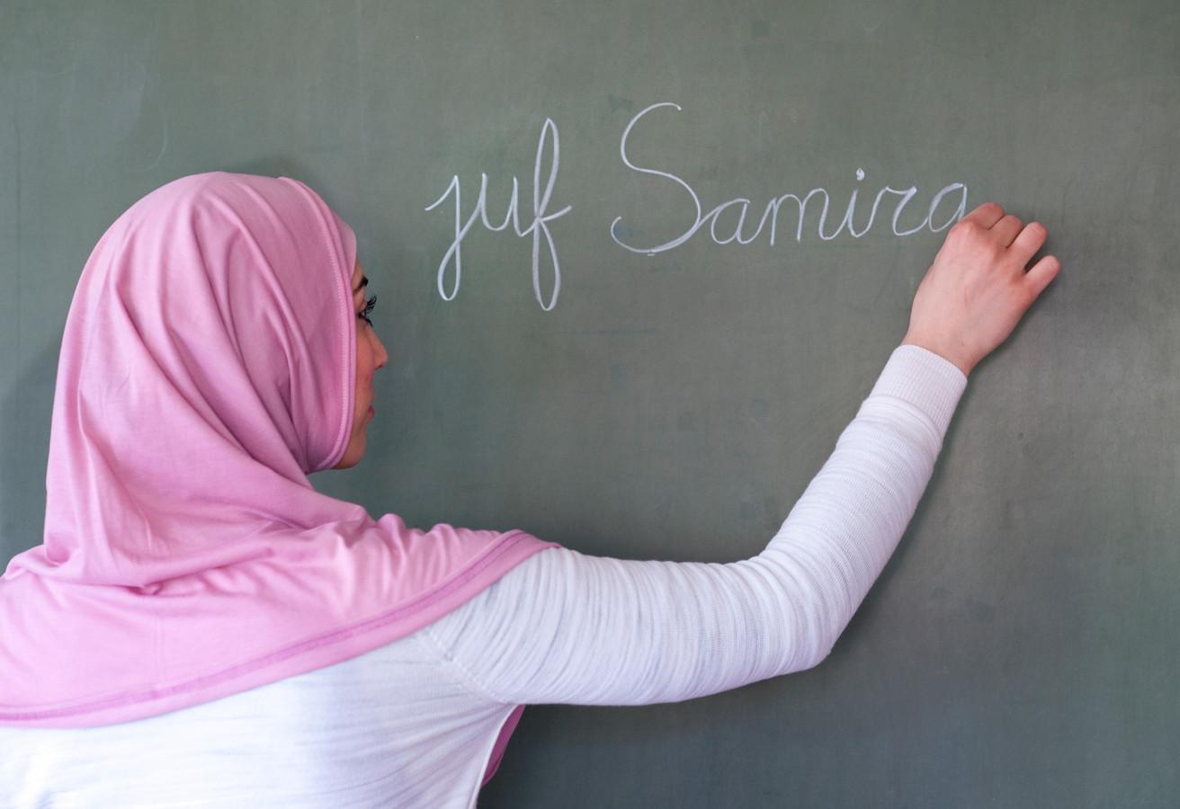 Ter illustratie, islamitische juf.