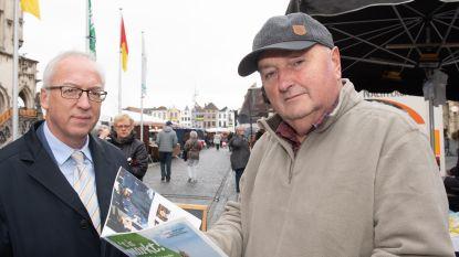 Brochure wijst weg naar Oudenaardse marktkramers en stelt ze ook voor