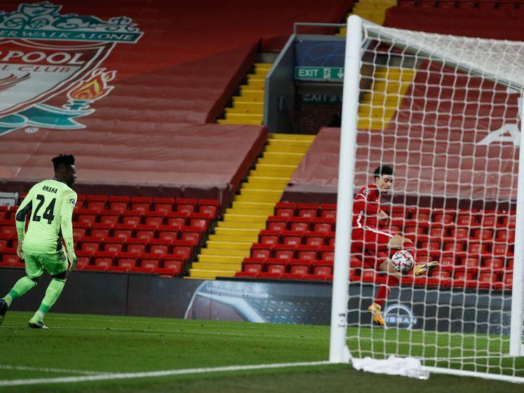 Onana lelijk in de fout, Jones brengt Liverpool aan de leiding tegen Ajax