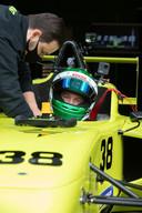 Nederlands professioneel autocoureur Xavier Maassen mocht de ronderecord proberen te verbreken.