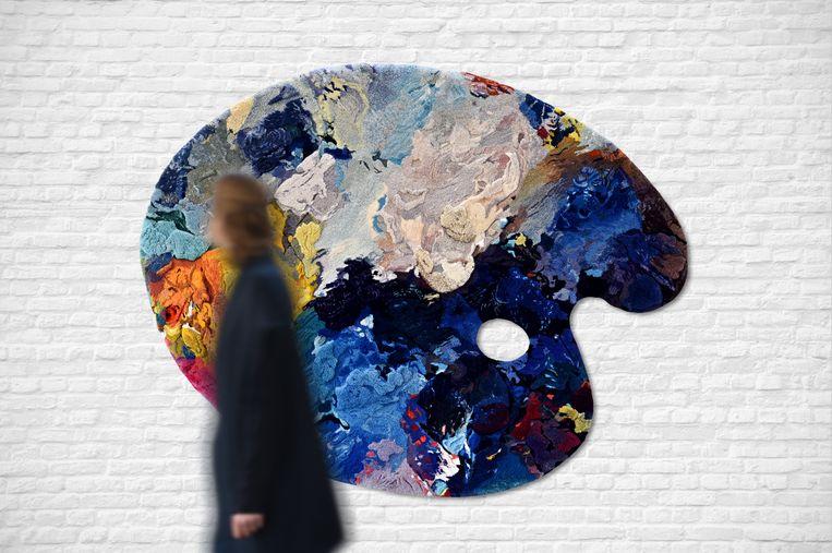 Design Museum Gent - Kleureyck. Van Eycks kleuren in design. Beeld RV