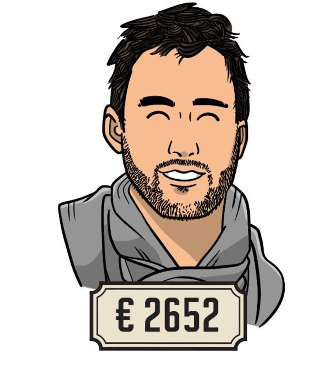 Marco Keissen verdient 2652 euro voor 36 uur in de week.