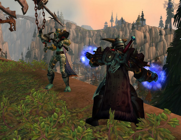 Een shot uit de game World of Warcraft.