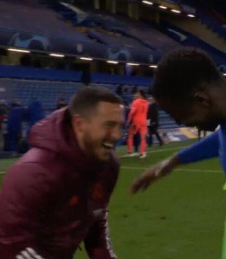 """Le sourire d'Eden Hazard après l'élimination du Real ne passe pas: """"Il n'a pas compris ce que représente ce club"""""""