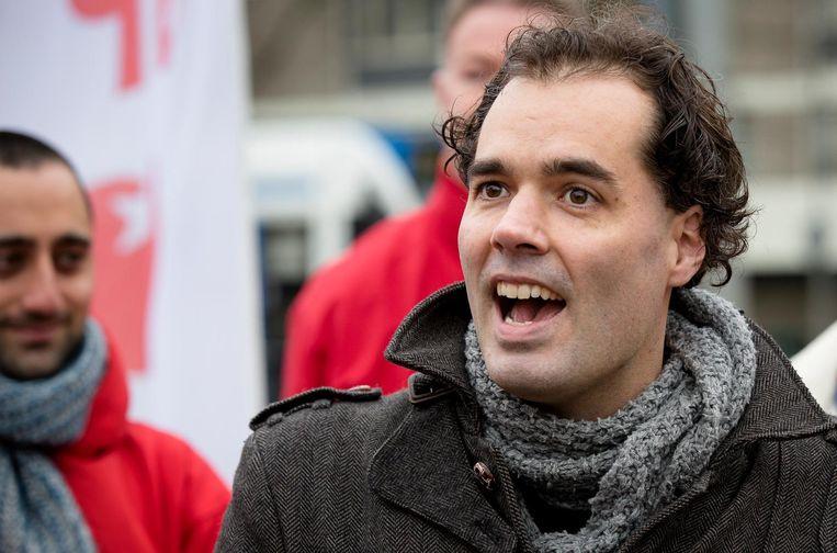 Ook voor Laurens Ivens begint een tweede periode als wethouder in Amsterdam. Beeld ANP