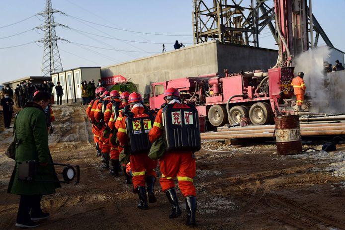 Na een week teken van leven van 22 Chinese mijnwerkers.