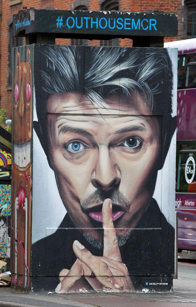 David Bowie: de laatste celebrity gelinkt aan het zogenaamde 'Ramsey-effect'. Beeld Photo News