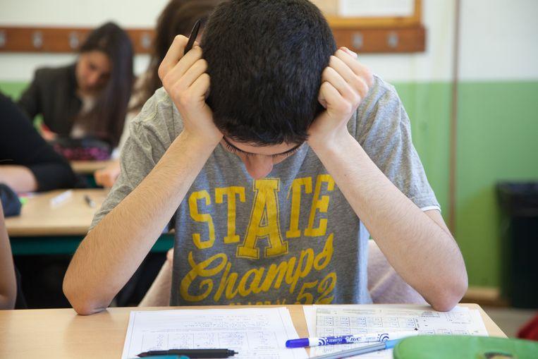 Directeurs willen hervorming secundair onderwijs jaartje uitstellen. Beeld Photo News