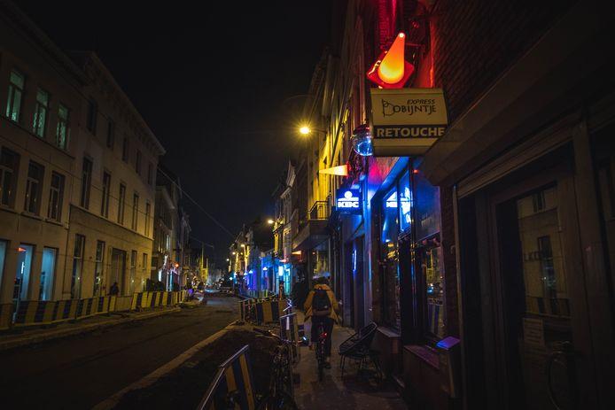 De burgstraat in gent