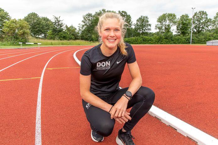 Noor Dekker komt dit komend weekend op het NK in actie op de 1500 meter.