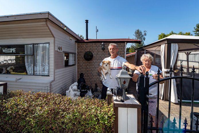 Ad en Riek Rom komen al 37 jaar naar camping Zoomland, en dit jaar is geen uitzondering.