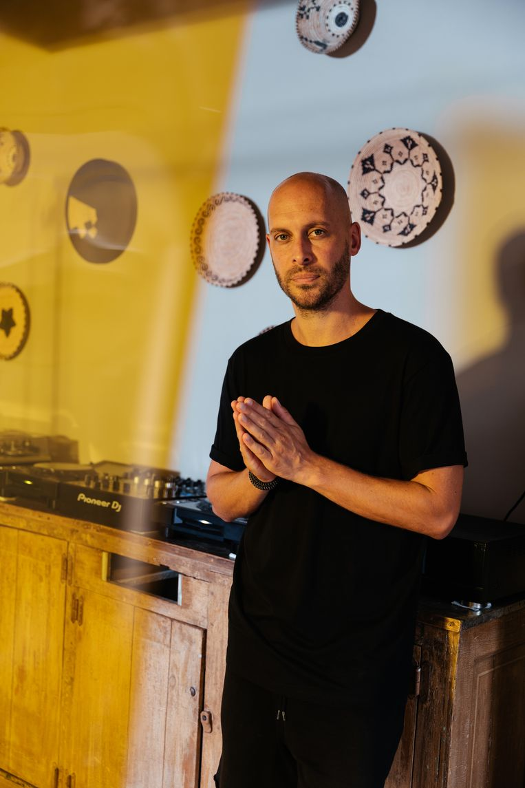 DJ Maxim Lany.  Beeld Damon De Backer
