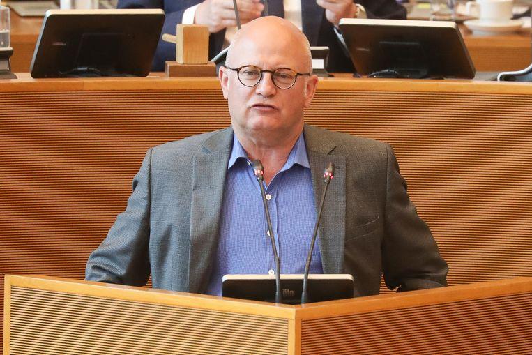 De Waalse minister van Begroting Jean-Luc Crucke.