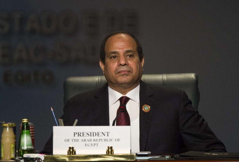 President Abdel Fattah al-Sisi. Beeld anp