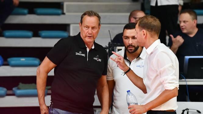 """Kristof Michiels (Kangoeroes) waarschuwt zijn team voor de eerstvolgende tegenstander: """"We  zullen meteen klaar moeten zijn. Giants is een animal"""""""