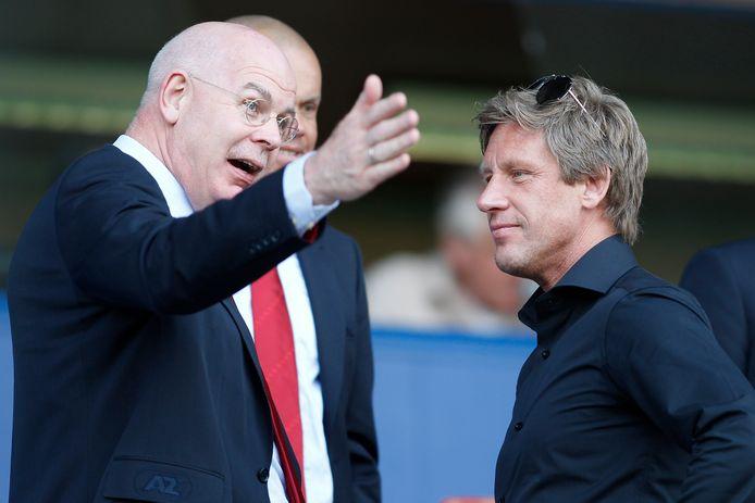 Toon Gerbrands en Marcel Brands, directeuren van PSV.