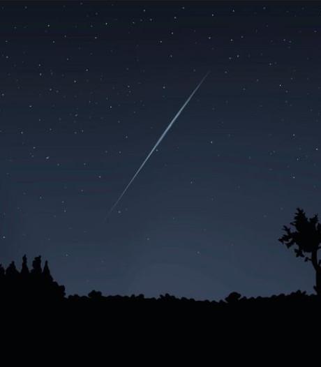 Zondagnacht elke minuut een vallende ster zien