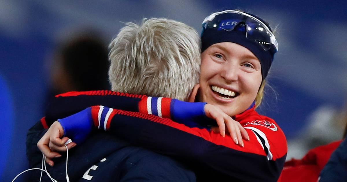 De Jong, Wüst en Wijfje grijpen naast medailles op 1500 meter, Noorse Wiklund verrast met goud - AD.nl