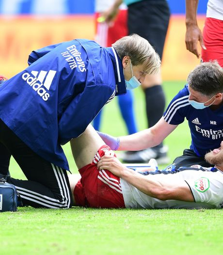 Na lang blessureleed is Rick Van Drongelen weer terug bij HSV